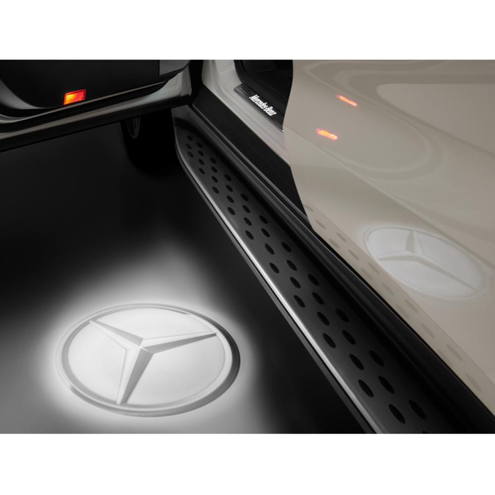 Mercedes-Benz LED Projektor Mercedes Stern 2-teilig