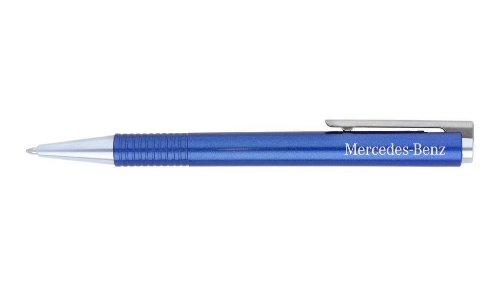 Mercedes-Benz Kugelschreiber LAMY logo blau
