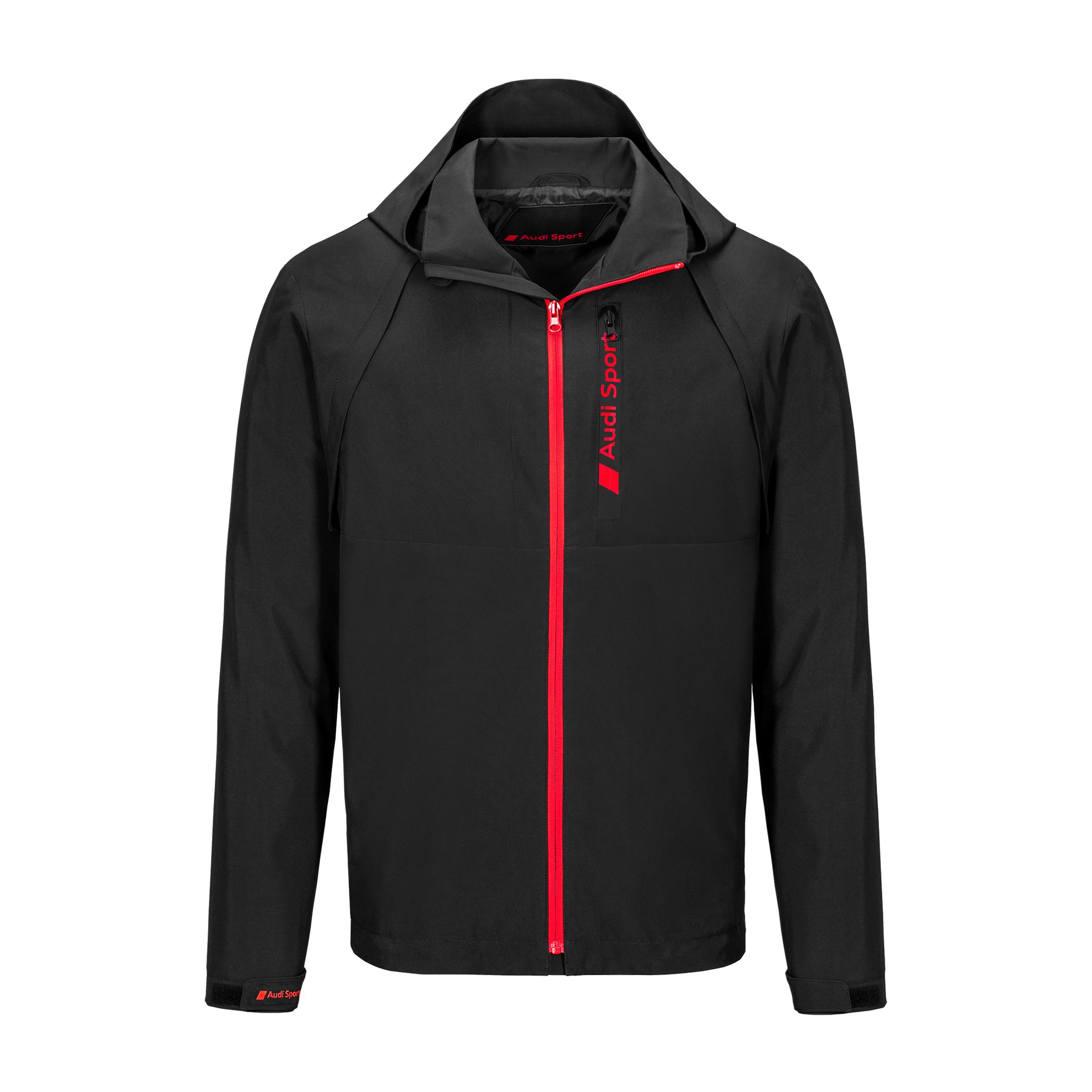 Audi Sport Zipoffjacke Herren Größe M schwarz Jacke