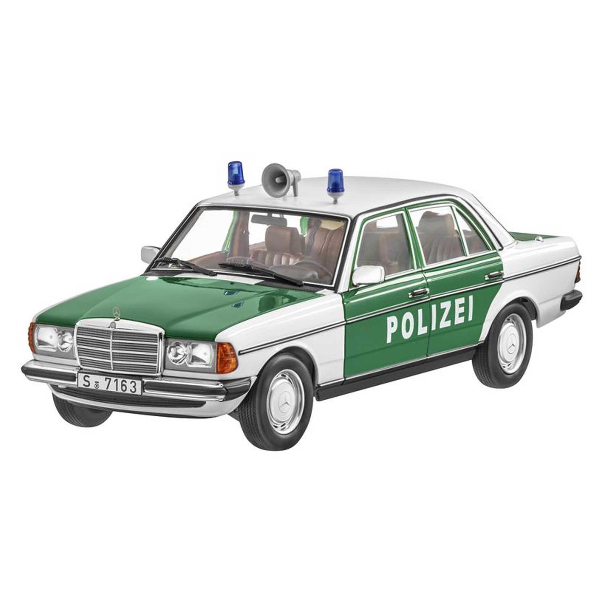 Mercedes-Benz Modellauto 200 Polizei W123 (1980-1985) 1:18