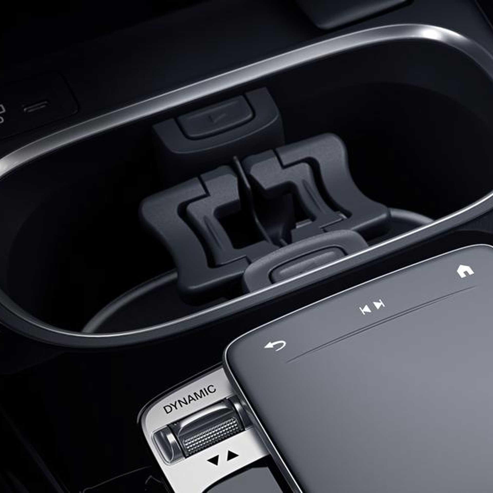 Mercedes-Benz Getränkehalter Mittelkonsole für Fahrzeuge mit DCT-Getriebe