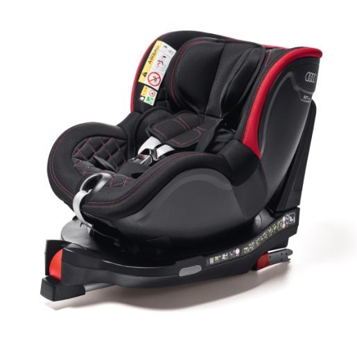 Kindersitz Dualfix I-SIZE schwarz/rot